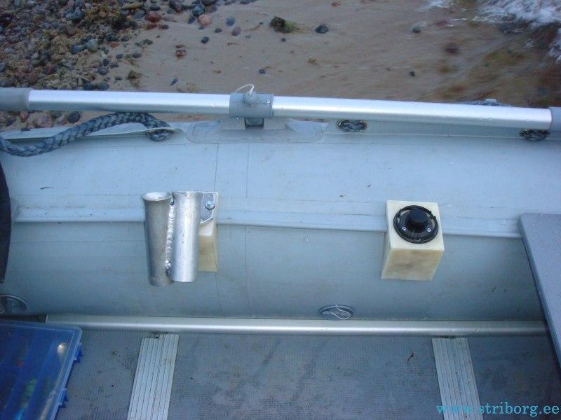 держатель для спиннинга на лодку пвх авито