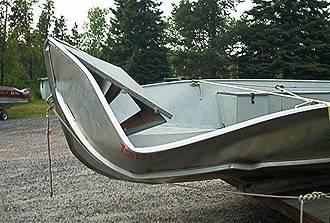 Ремонт лодок алюминиевых своими руками